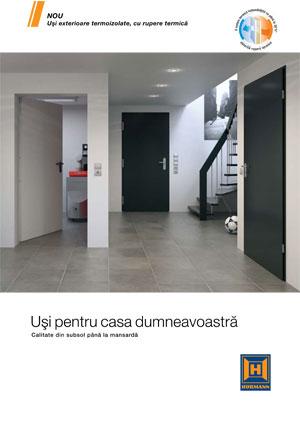 Catalogul Uşi pentru casa dumneavoastră