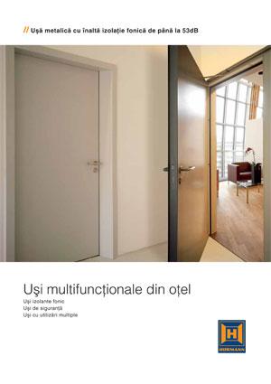 Catalogul Uşi multifuncţionale din oţel