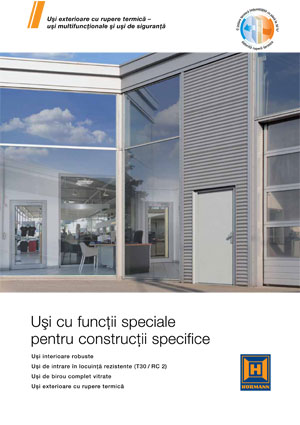 Uşi speciale pentru construcţii specifice