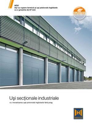 Catalogul Hörmann Usi Industriale Sectionale